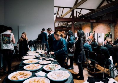 Networking with great food